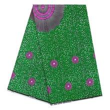 Нигерийский Анкара Африканский Воск принты ткань настоящий голландский настоящий воск голландский воск ткань голландский воск полиэстер воск ткань