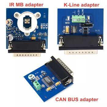 Adapter IPROG KLine Adapter IR MB Adapter + K-LINE + magistrala CAN Adapter do V77 Iprog Iprog + Pro programator Iprog tanie i dobre opinie EP040 Testery elektryczne i przewody pomiarowe 1 4kg Iprog+ Iprog Pro Mileage Correction Airbag Reset always in stock
