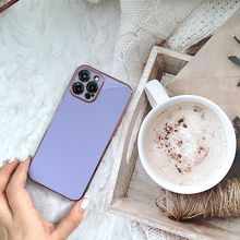 for iPhone 11 Cases Luxruy Plated Square Electroplate Cover For iPhone 12 Pro Max SE Silicone Retro Cases