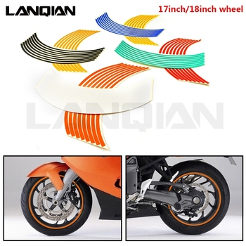Motorcycle Strips Wheel Sticker Stripe Tape Accessory For KTM 65 85 125 200 250 300 350 400 450 500 525 530 SX XC EXC EXC R F W image