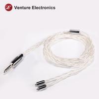 Venture Electronics VE Premium Silver Plated Copper MMCX/0.78
