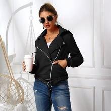 Женская короткая куртка на молнии осенне зимняя верхняя одежда