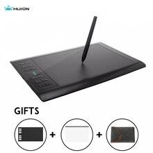 Huion tableta gráfica 1060 Plus, 8192 niveles, profesional, 8GB, USB, dibujo Digital, animación con regalos