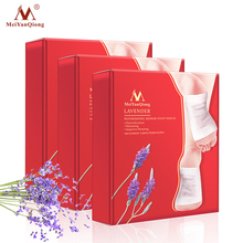 3Boxes Lavender Detox Foot Patches Pads Slimming Body Nourishing Repair Foot Patch Improve Sleep Slimming Patch Loss Weight Care