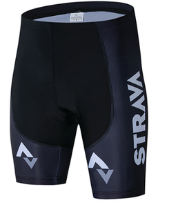 Image 3 - STRAVA 2019 Pro Team Cycling Shorts Men Bib Anti Slip Gel Cycling MTB Bike Shorts Mountain Bicycle Short Pants ciclismo