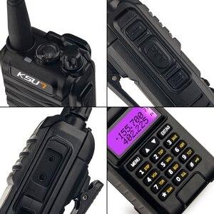 Image 4 - KSUN KS UV1D מכשיר קשר 8W גבוהה כוח חזיר שתי בדרך רדיו להקה כפולה Communicator HF משדר חובב Handy