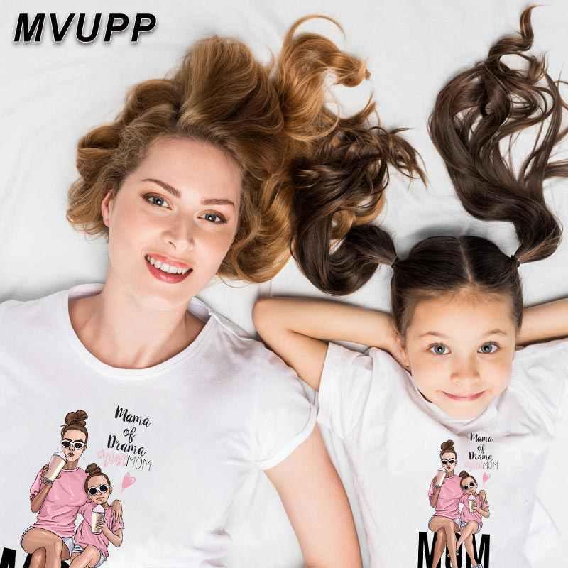 母と娘の服マッチング衣装ファミリールックマッチング服ファッションセットママと私ママ女の赤ちゃん子供服