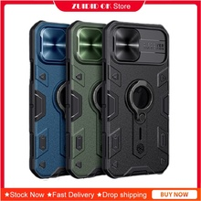 [Luxury] ผู้ถือแหวนนิ้วมือสำหรับ Iphone 11 12 Pro Max Mini Case เกราะกันกระแทกเลนส์ป้องกันเลนส์กันชนโทรศัพท์ครอบคลุม