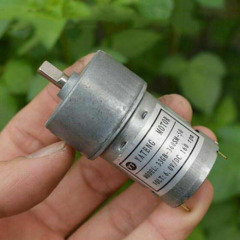 DC3V~6V 5V 52RPM N20 Mini 12mm Planetary Gearbox Gear Motor Slow Speed DIY Robot