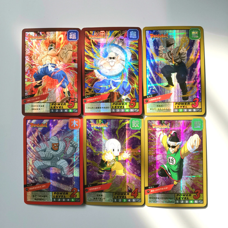 19pcs/set Super Dragon Ball Z Burst 6 Heroes Battle Card Ultra Instinct Goku Vegeta Game Collection Cards Free Shipping