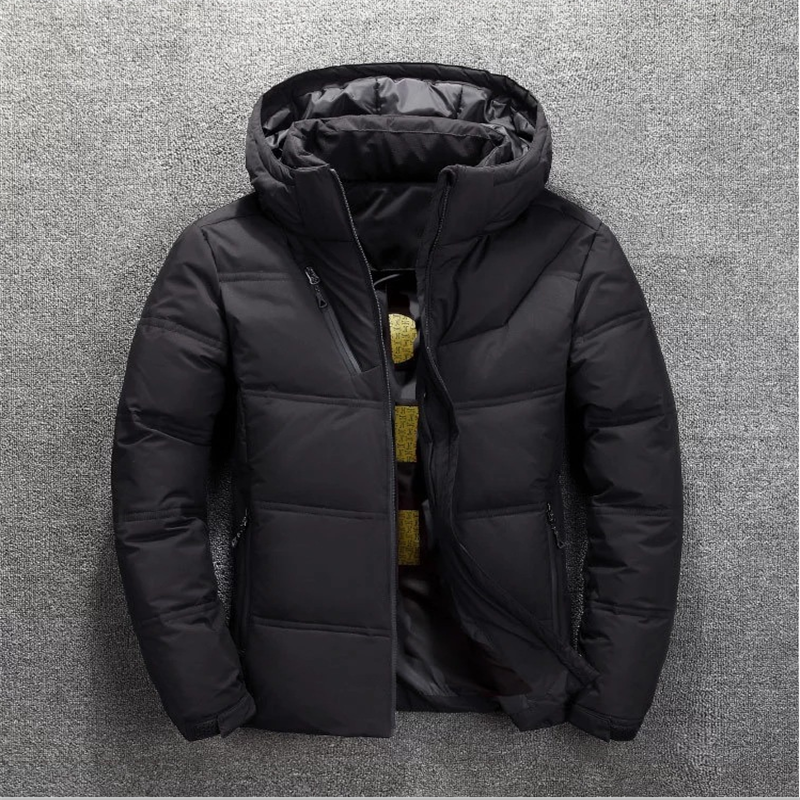 2020 겨울 캐주얼 스포츠 재킷 남자의 고품질 따뜻한 두꺼운 코트 스노우 레드 블랙 파카 남자의 따뜻한 재킷 패션 화이트 오리 할