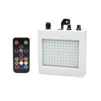 25W LED Bühne Lichter 108 Patch Strobe Lichter Mini Sound Control Beleuchtung Spezielle Effekte Lampe für Bar KTV ballsaal-in Bühnen-Lichteffekt aus Licht & Beleuchtung bei