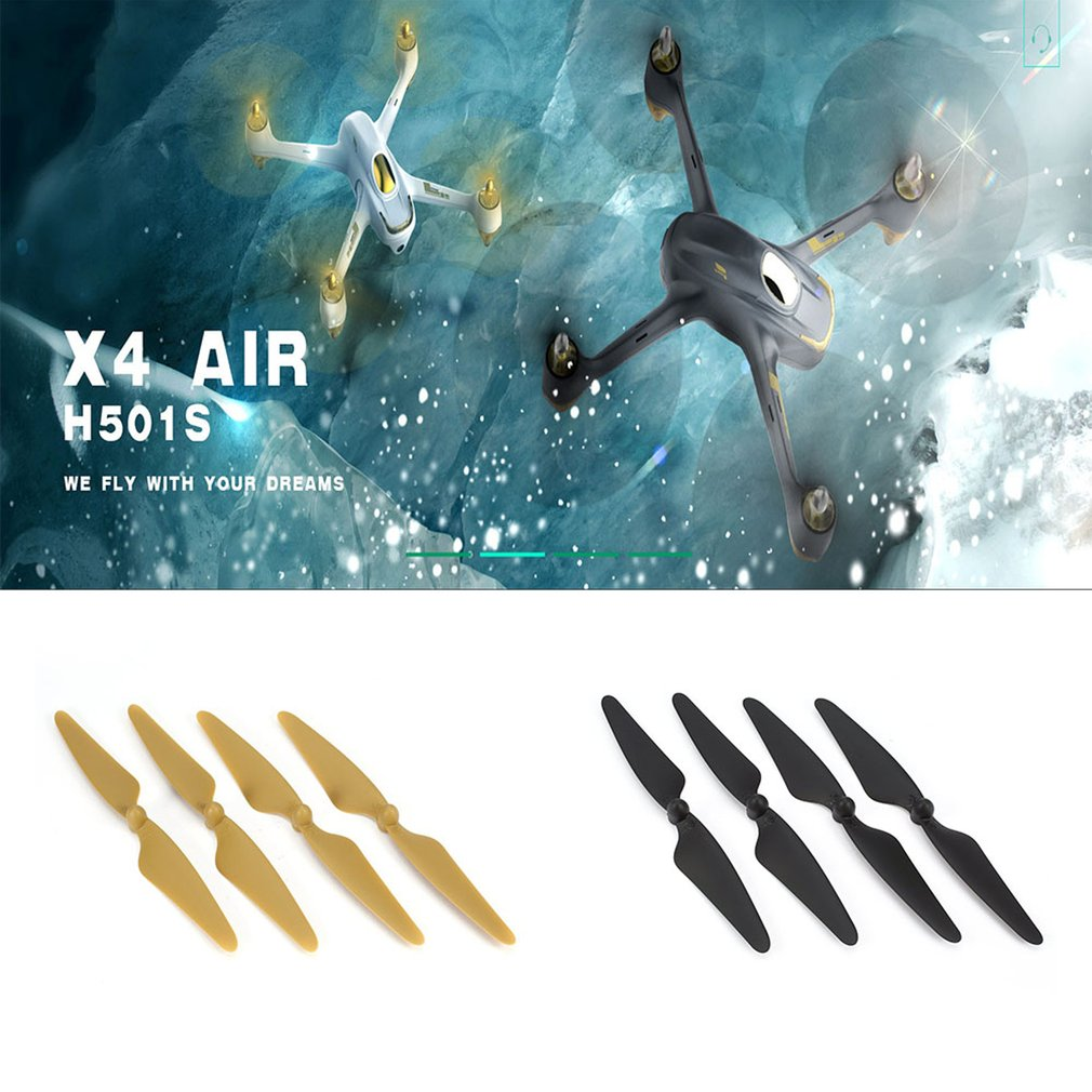Hubsan 2 Pairs Original RC Drone Parts Propeller Blade For Hubsan H501S H501C H501A H501M 501 RC Quadcopter Toy Part Accessories