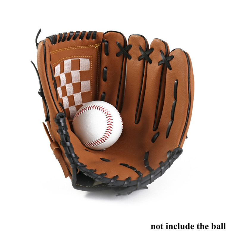 Outdoor Sports Baseball Glove Softball Practice Equipment Size 10.5/11.5/12.5 Left Hand For Adult Man Woman Train