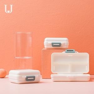 Image 3 - Youpin Jordan & Judy PP Portable petite boîte à pilules scellé Kit demballage Mini boîte à pilules 7 compartiments transportant la boîte à médicaments