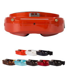 Version originale de Skyzone SKY03O/SKY03S OLED 5.8GHz 48CH diversité FPV lunettes prennent en charge OSD DVR HDMI avec ventilateur de suivi de tête