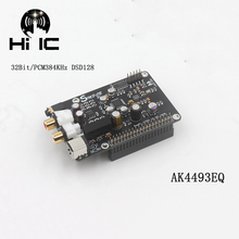 R93 AK4493 I2S 32BIT/384KHZ DSD128 Decoder DAC HiFi Audio Lettore di Rete Lettore Digitale Consiglio Per Raspberry Pi
