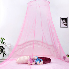Elegant Canopy Mosquito Net Dome Netting Curtains Repellent Bed Mosquito Repellent Tent Insect Reject Canopy Bed Curtain Tent(China)