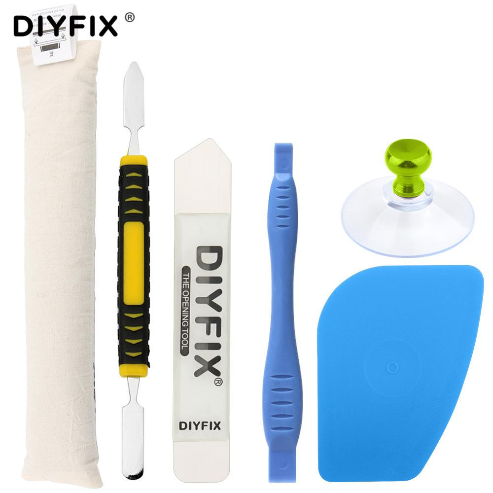 6Pcs Ufix Split Screen Heat Melting Bags Strip Disassemble Tool For iPhone Screen Remover Melt Adhesive With Knife Pry Card image