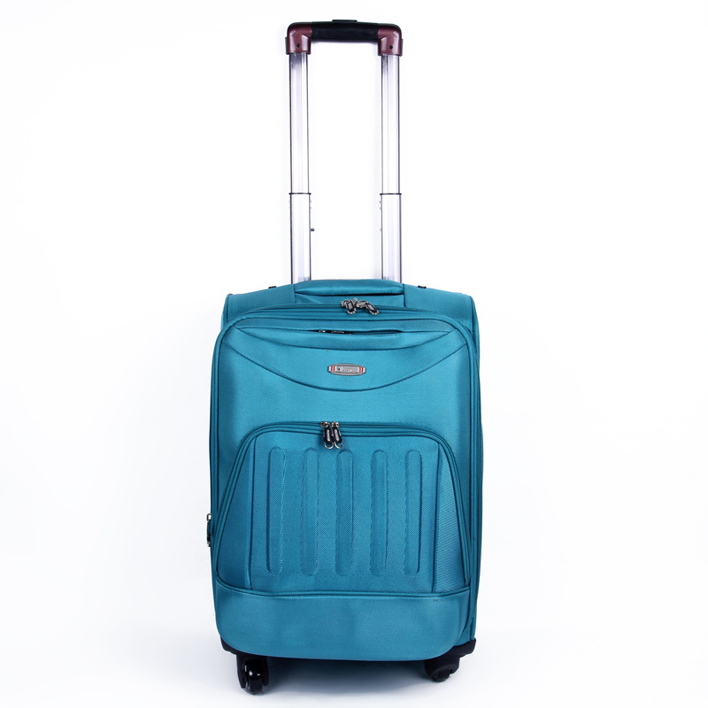 Men And Women Bar Oxford Waterproof Luggage Simple Lightweight Travel Lugguge Solid Color Large-Volume Printed Suitcase Wholesal