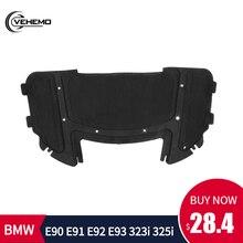 Портативный автомобиля звуковые прокладки капюшон Звукоизолированные черный 51487059260 прочной комбинации хлопка и звуковые прокладки для BMW E90 E91 E92 E93 323i 325i