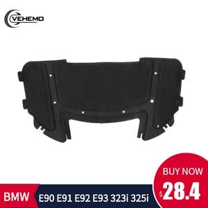 Car Sound Pad Hood Soundproof Hood Engine Sound Insulation Pad Durable Cotton Sound Pad for BMW E90 E91 E92 E93 323i 325i