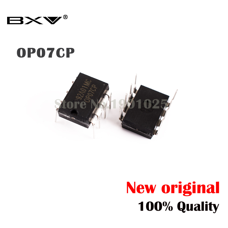 10pcs/lot OP07CP OP07 OP07C DIP-8  New Original In Stock