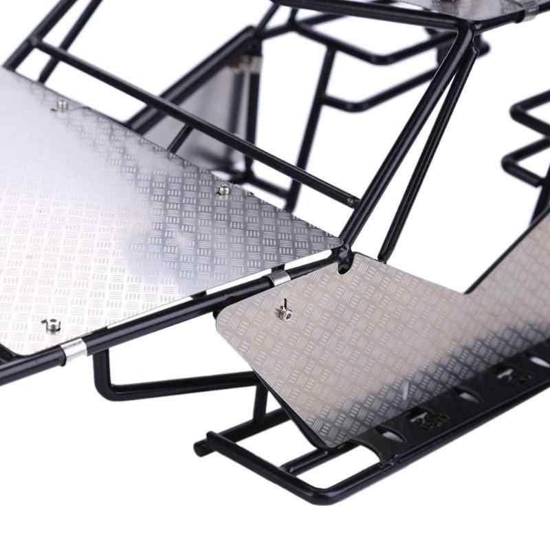 Metalen Gemodificeerde Frame Body Roll Kooi Met Imperiaal Metalen Plaat Platefor Rc Axial Wraith Rc Rock Crawler Model Onderdelen accessoires