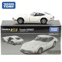 Tomy Tomica Premium arabalar 1:43 ölçekli RS Toyota 2000GT beyaz spor araba modeli Diecast Metal Motor VehicleKids oyuncaklar erkek yeni 148375