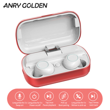 ANRY S8 TWS All Metal Charging Box Tws 5.0 Bluetoo