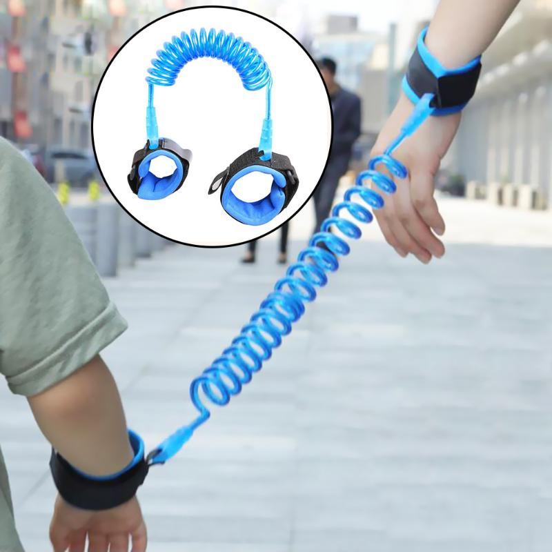 Adjustable Kids Safety Harness Child Wrist Leash Anti-lost Link Children Belt Walking Assistant Baby Walker Wristband