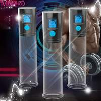 Meselo Male Penis Pump USB Rechargeable LED Automatic Penis Enlarger Male Enhancement Penis Enlargement Sex Toys for Men