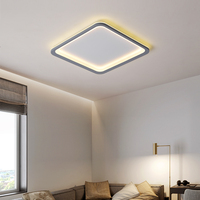 Ultra fino acrílico moderno led luz de teto para sala de estar lâmpada de teto quarto sala de jantar corredor lustres luminárias 90 260 v Luzes de teto     -