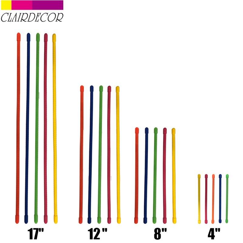 Hot Reusable Magic Rubber Twist Ties  Cable Wire Organizer Cable Winder Colourful Random Color|Hooks & Rails| |  - title=
