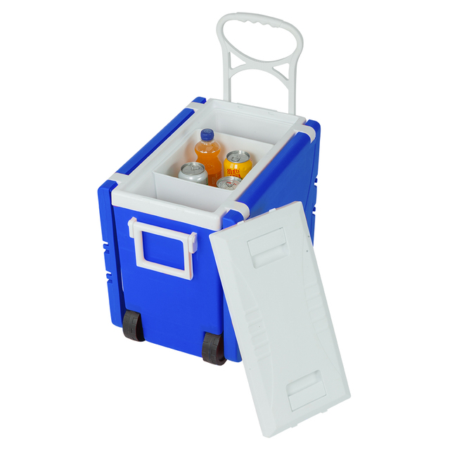 Outdoor Picnic Foldable Multi-function Rolling Cooler Stool  2