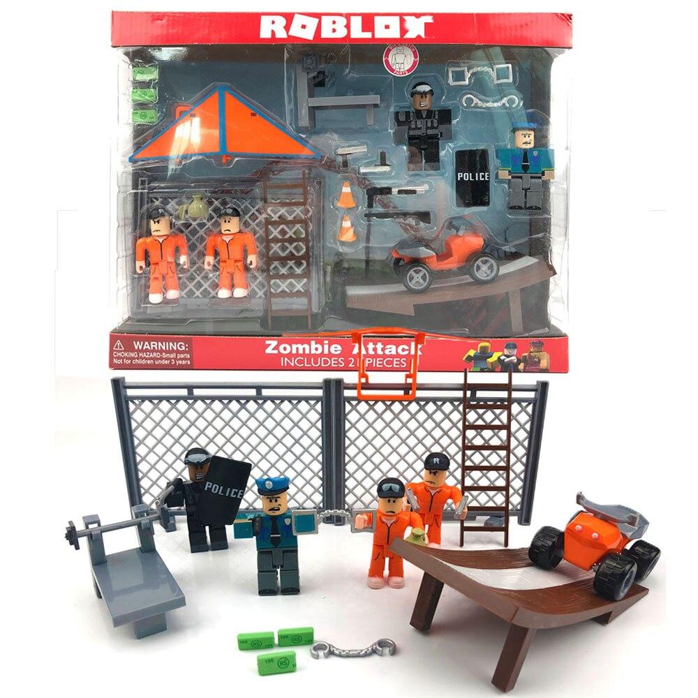 ROBLOXing Jailbreak, ядовитый побег, Большой побег, модель 7 см, куклы, фигурки, коллекционная фигурка, игрушки-антистресс, подарки для детей