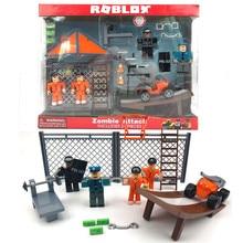 Robloxing jailbreak veneno quebrar ótima fuga 7cm modelo bonecas figurinhas coleção figura fidget brinquedos presentes para o miúdo