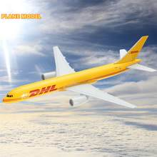 DHL B757 Kargo 16CM Metal Airplane Model Plane Model Aircraft Model Building Kits Toy For Children(China)