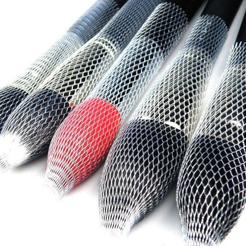 50/10 шт. кисти для макияжа, сетевой протектор, защита для основы, теней, консилера, кисти, сетчатые сетки, косметические инструменты
