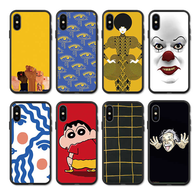 Funny Art Cases For Huawei P 9 2017 P9 Lite Mini 2016 Case Silicona Soft Cover For Huawei P9 Lite P9 P9Lite Phone Back Cover