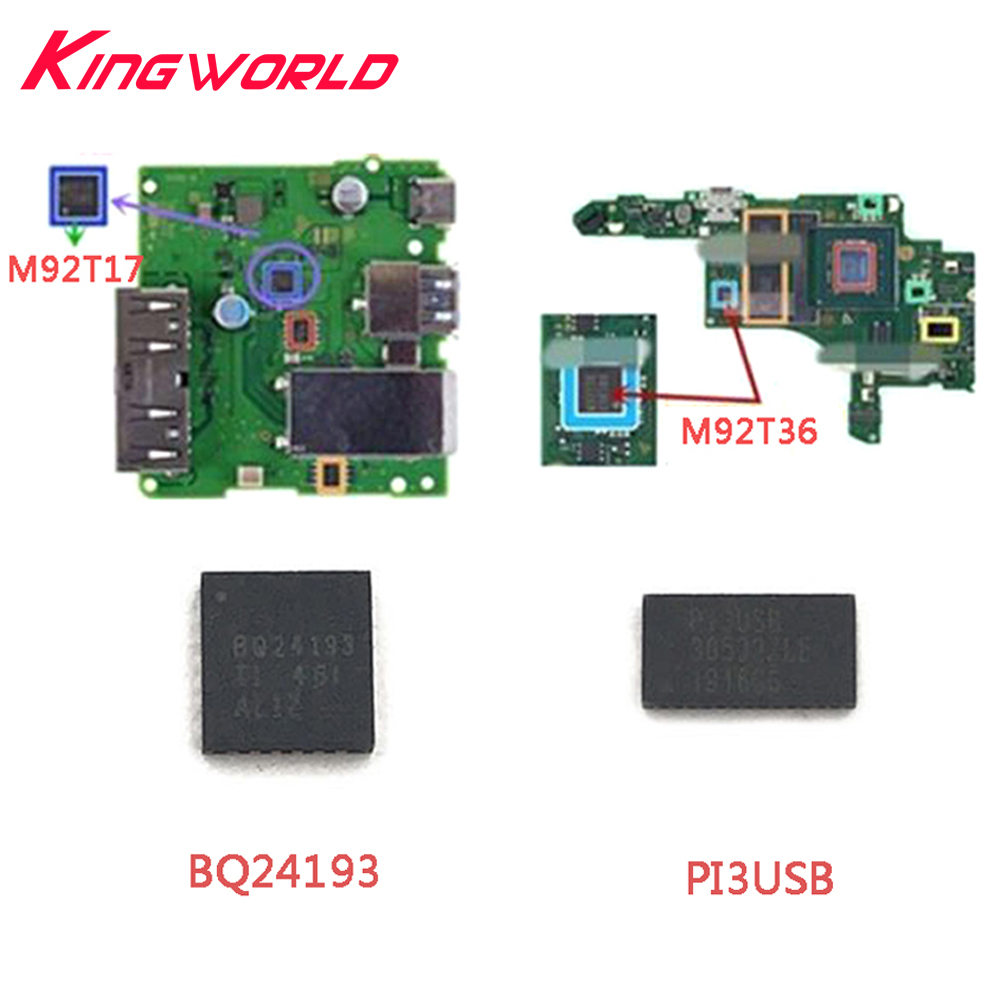 IC Chip Motherboard Lmage Power Charging Control Battery Management For Switch NS Console M92T36 M92T17 PI3USB BQ24193