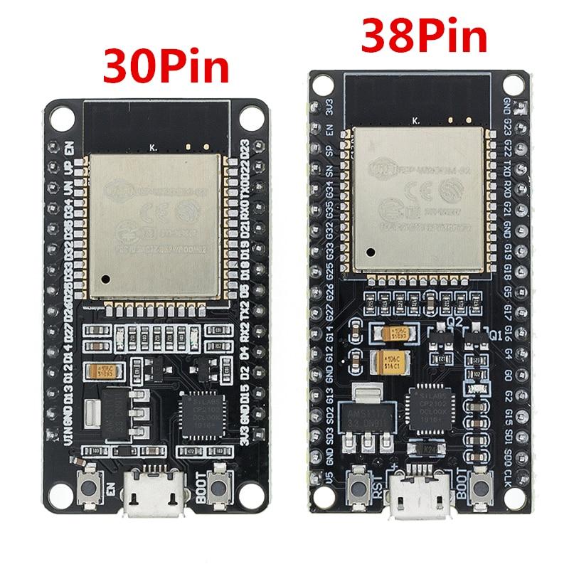 1 шт. ESP32 плата разработки WiFi + Bluetooth ультра-низкое энергопотребление двухъядерный ESP-32 ESP-32S ESP 32 аналогичный ESP8266