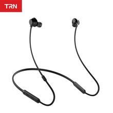 TRN AS10 Wireless bluetooth Earphone CSR8645 Chip IPX7 Waterproof Sport Running HiFi Stereo Neckband Headset with Mic