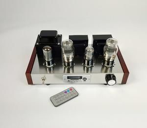6N9P 6P3P 밸브 튜브 앰프 라디오 USB MP3 디코더 HIFI 단일 종단 앰프 USB/MP3/SD/MMC DIY/완료