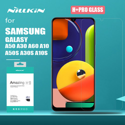 Nillkin dla Samsung Galaxy A50S A30S A50 A30 H + Pro ochronne szkło hartowane na ekran do Samsung A70 A60 A50 A20 A10 A10S szkło w Etui do ekranu telefonu od Telefony komórkowe i telekomunikacja na