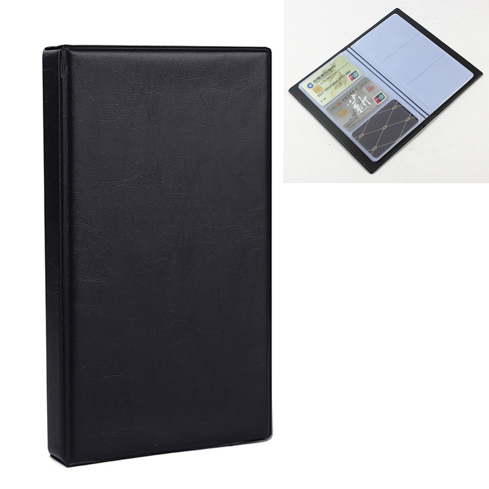 Holds 180/300 Cards Business Journal Name Card Book Holder Storage Organizied Name Cards Organizer