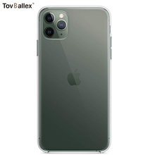 1000Pcs Phone Case For Apple iPhone 11 Pro Max XS XR X 8 7 6 6S Plus SE 5S Anti-Scratch Shock-Absorption Clear Cases Soft Cover