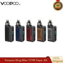 Box Mod Vaporizer Coils Tank Max-Vape-Kit Voopoo Drag Electronic Cigarette Original