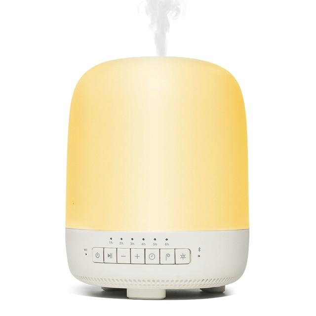 DOSS سمارت ناشر رائحة مصباح سمّاعات بلوتوث ستيريو صوت مدمج هيئة التصنيع العسكري رائحة الهواء المرطب مع أضواء LED للمنزل