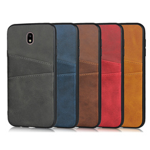 For Samsung Galaxy J330 Case Leather Wallet cover for Samsung J330 J530 Back Multifunction Card slot case for Galaxy J730 cover mooncase slim leather side flip wallet card slot pouch with kickstand shell back чехол для samsung galaxy a3 blue